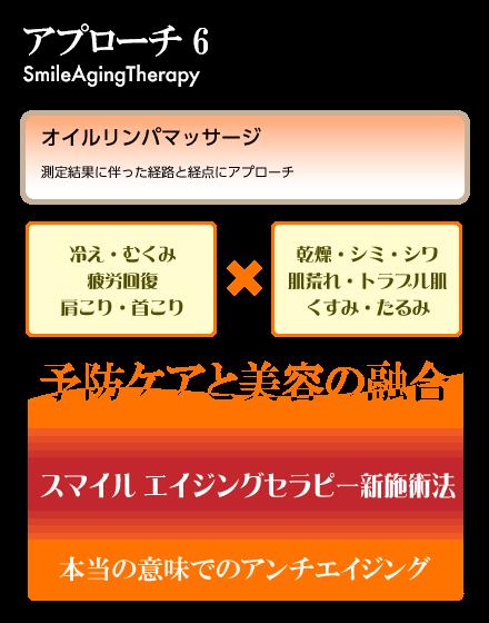 アプローチ6:オイルリンパマッサージ